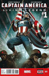 Captain America: Living Legend Comic Books. Captain America: Living Legend Comics.