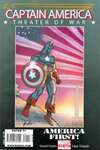 Captain America: Theater of War: America First! #1 comic books for sale