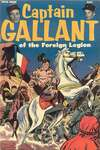 Captain Gallant of the Foreign Legion comic books