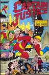 Captain Justice #1 comic books - cover scans photos Captain Justice #1 comic books - covers, picture gallery