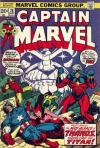 Captain Marvel #28 comic books - cover scans photos Captain Marvel #28 comic books - covers, picture gallery