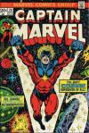 Captain Marvel #29 comic books - cover scans photos Captain Marvel #29 comic books - covers, picture gallery