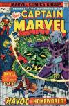Captain Marvel #41 comic books - cover scans photos Captain Marvel #41 comic books - covers, picture gallery