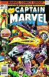 Captain Marvel #47 comic books - cover scans photos Captain Marvel #47 comic books - covers, picture gallery