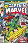 Captain Marvel #52 comic books - cover scans photos Captain Marvel #52 comic books - covers, picture gallery