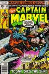 Captain Marvel #57 comic books - cover scans photos Captain Marvel #57 comic books - covers, picture gallery