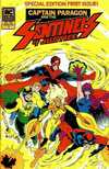 Captain Paragon and the Sentinels of Justice #1 Comic Books - Covers, Scans, Photos  in Captain Paragon and the Sentinels of Justice Comic Books - Covers, Scans, Gallery