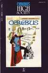 Cerebus: High Society #9 comic books for sale
