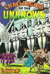 Challengers of the Unknown #28 comic books - cover scans photos Challengers of the Unknown #28 comic books - covers, picture gallery