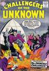 Challengers of the Unknown #3 Comic Books - Covers, Scans, Photos  in Challengers of the Unknown Comic Books - Covers, Scans, Gallery
