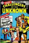 Challengers of the Unknown #48 comic books - cover scans photos Challengers of the Unknown #48 comic books - covers, picture gallery