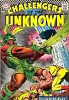 Challengers of the Unknown #56 comic books - cover scans photos Challengers of the Unknown #56 comic books - covers, picture gallery