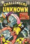 Challengers of the Unknown #57 comic books - cover scans photos Challengers of the Unknown #57 comic books - covers, picture gallery