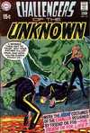 Challengers of the Unknown #70 comic books - cover scans photos Challengers of the Unknown #70 comic books - covers, picture gallery
