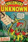 Challengers of the Unknown #78 comic books - cover scans photos Challengers of the Unknown #78 comic books - covers, picture gallery