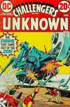 Challengers of the Unknown #80 comic books - cover scans photos Challengers of the Unknown #80 comic books - covers, picture gallery