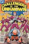 Challengers of the Unknown #81 comic books - cover scans photos Challengers of the Unknown #81 comic books - covers, picture gallery