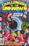 Challengers of the Unknown #87 comic books - cover scans photos Challengers of the Unknown #87 comic books - covers, picture gallery