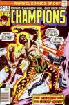 Champions #10 comic books for sale