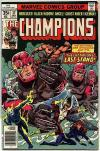 Champions #17 Comic Books - Covers, Scans, Photos  in Champions Comic Books - Covers, Scans, Gallery