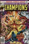 Champions #8 comic books for sale