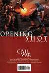 Civil War: Opening Shot comic books