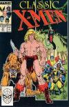 Classic X-Men #21 comic books for sale