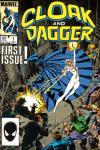 Cloak and Dagger Comic Books. Cloak and Dagger Comics.