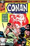 Conan the Barbarian #109 comic books - cover scans photos Conan the Barbarian #109 comic books - covers, picture gallery