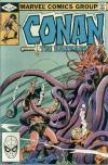 Conan the Barbarian #136 comic books - cover scans photos Conan the Barbarian #136 comic books - covers, picture gallery