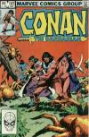 Conan the Barbarian #141 comic books - cover scans photos Conan the Barbarian #141 comic books - covers, picture gallery