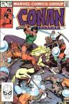 Conan the Barbarian #143 comic books - cover scans photos Conan the Barbarian #143 comic books - covers, picture gallery