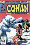 Conan the Barbarian #145 comic books - cover scans photos Conan the Barbarian #145 comic books - covers, picture gallery