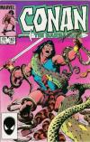 Conan the Barbarian #162 comic books - cover scans photos Conan the Barbarian #162 comic books - covers, picture gallery