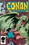 Conan the Barbarian #166 comic books - cover scans photos Conan the Barbarian #166 comic books - covers, picture gallery