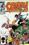 Conan the Barbarian #169 comic books - cover scans photos Conan the Barbarian #169 comic books - covers, picture gallery
