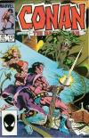 Conan the Barbarian #170 comic books - cover scans photos Conan the Barbarian #170 comic books - covers, picture gallery
