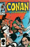 Conan the Barbarian #172 comic books - cover scans photos Conan the Barbarian #172 comic books - covers, picture gallery