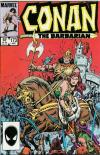 Conan the Barbarian #173 comic books - cover scans photos Conan the Barbarian #173 comic books - covers, picture gallery
