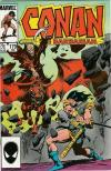 Conan the Barbarian #179 Comic Books - Covers, Scans, Photos  in Conan the Barbarian Comic Books - Covers, Scans, Gallery