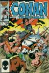 Conan the Barbarian #182 comic books - cover scans photos Conan the Barbarian #182 comic books - covers, picture gallery