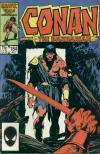 Conan the Barbarian #184 comic books - cover scans photos Conan the Barbarian #184 comic books - covers, picture gallery