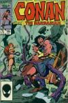 Conan the Barbarian #185 comic books - cover scans photos Conan the Barbarian #185 comic books - covers, picture gallery