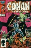Conan the Barbarian #191 comic books - cover scans photos Conan the Barbarian #191 comic books - covers, picture gallery