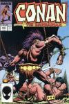 Conan the Barbarian #195 comic books - cover scans photos Conan the Barbarian #195 comic books - covers, picture gallery