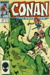 Conan the Barbarian #196 comic books - cover scans photos Conan the Barbarian #196 comic books - covers, picture gallery