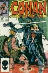 Conan the Barbarian #198 comic books - cover scans photos Conan the Barbarian #198 comic books - covers, picture gallery
