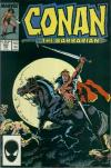 Conan the Barbarian #202 comic books - cover scans photos Conan the Barbarian #202 comic books - covers, picture gallery