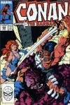 Conan the Barbarian #204 comic books - cover scans photos Conan the Barbarian #204 comic books - covers, picture gallery