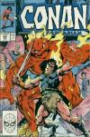 Conan the Barbarian #205 comic books - cover scans photos Conan the Barbarian #205 comic books - covers, picture gallery